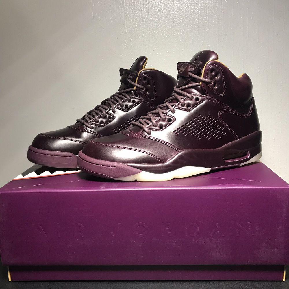 detailed look a544c b230e Air Jordan 5 Retro Premium - SIZE 9.5- 881432-612 Wine Maroon Burgundy  Bordeaux  fashion  clothing  shoes  accessories  mensshoes  athleticshoes  (ebay link)