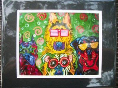 """The Gang"" Print"