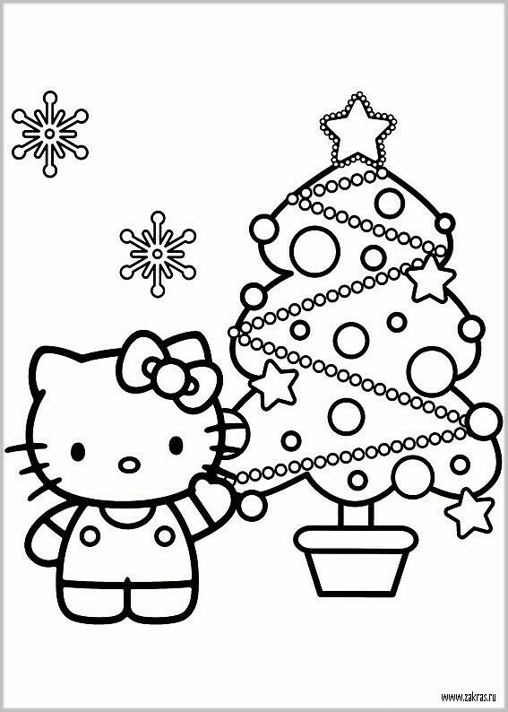 Pin by Angela Jacques on Colouring Pages   Pinterest   Hello kitty ...