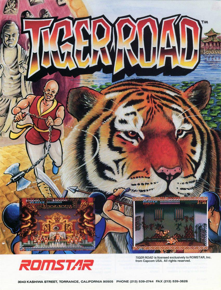 Manuals & Guides Tiger Road Capcom Video Game Manual