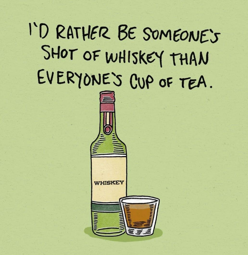 Pin by •·⍣ⱴίƈƙỿ⍣·• on Boss Bitch Quotes   Whiskey brands ... #irishCoffee