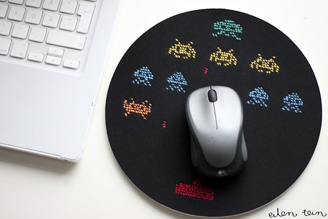 Embroidered Mouse Pad Ikea Hackers Mouse Pad Ikea Hackers