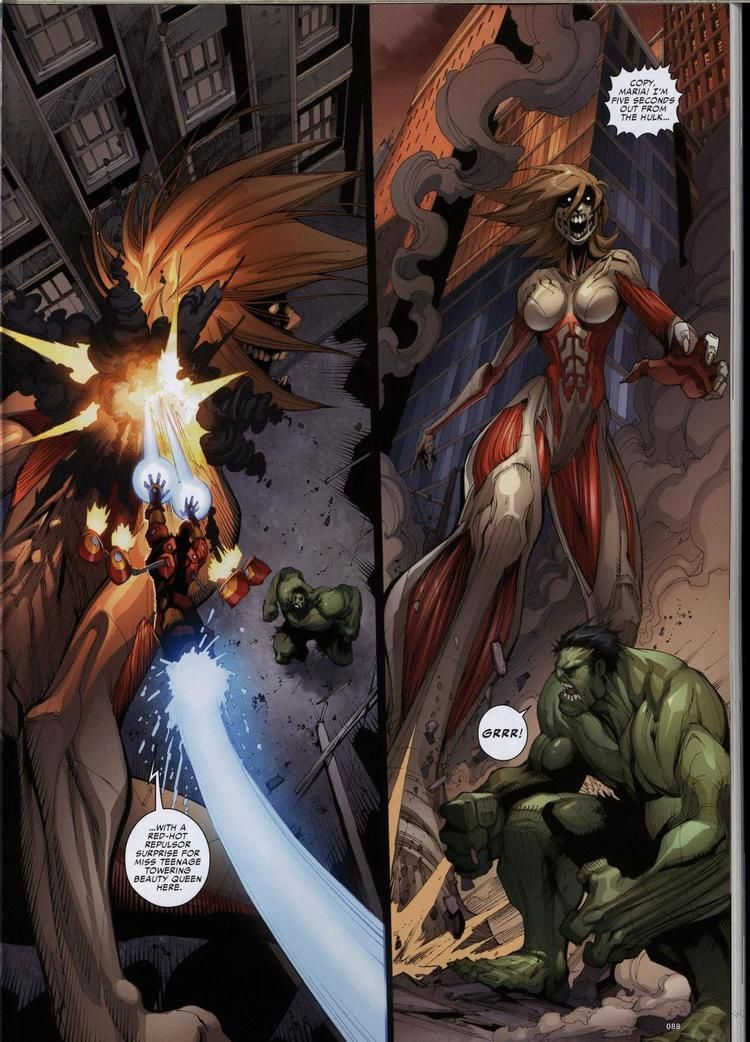 Read Full ATTACK ON TITAN and AVENGERS Crossover Comic Now   Comic