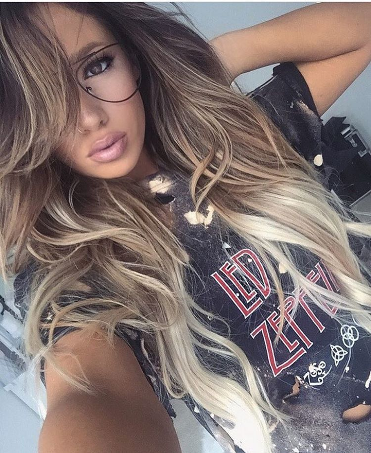 When you balayage blonde your own hair did all the front angles to marinarumppe is tres chic in her guytang 220g 22 860 balayage pmusecretfo Gallery