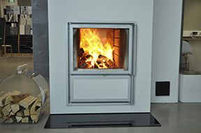 Tulikivi takka - fireplace Jalanti OV V4 takka leivinuuni