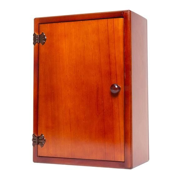 Medicine Cabinet - Wooden - 3 Shelves - Left or Right Opening #organizemedicinecabinets Medicine Cabinet - Wooden - 3 Shelves - Left or Right Opening #organizemedicinecabinets