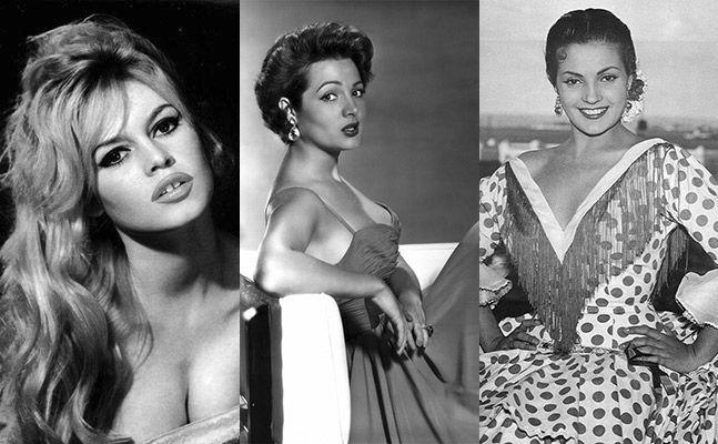 En Europa Triunfa Brigitte Bardot En España Sara Montiel O Carmen
