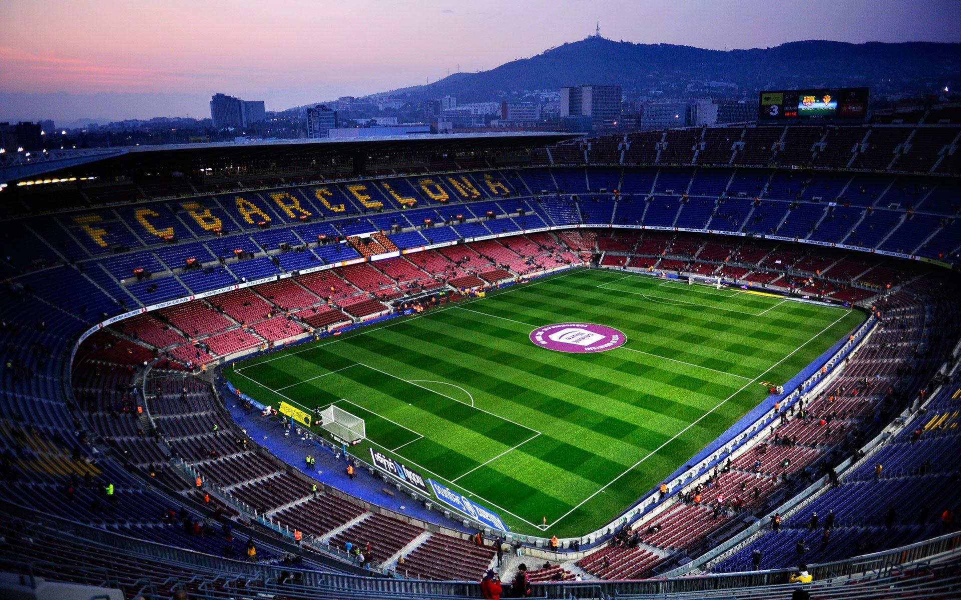 Fondos De Pantalla Camp Nou España El Fc Barcelona: Стадион Камп Ноу (Camp Nou