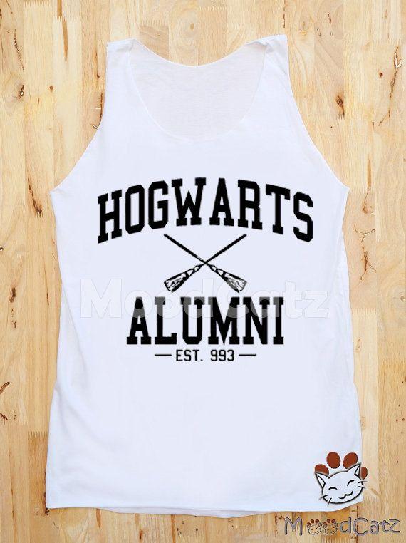 S M L Hogwarts Alumni Shirt Harry Potter Shirt Women by