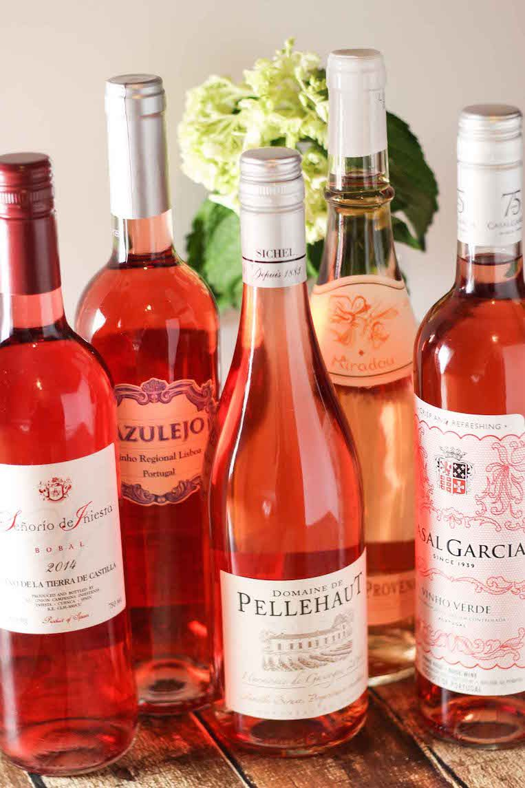Favorite Rose Wines For Less Than 10 Rose Wine Wine Tasting Events Wine Bottle