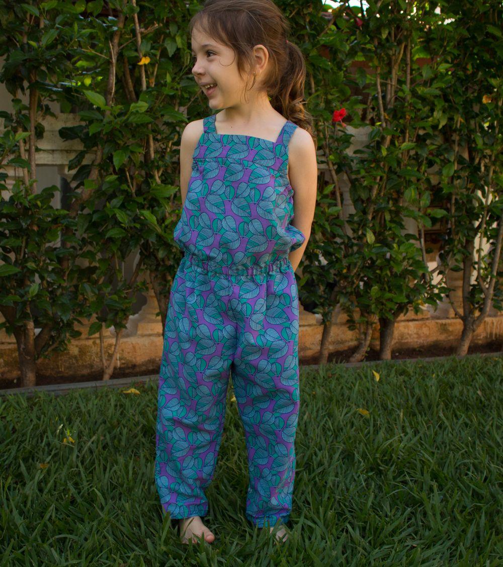 21b7897f42bee1 Macacão SOFIA - infantil | moldes de roupas | Macacão infantil, Moda ...
