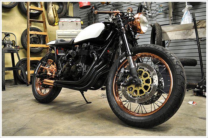 1976 Honda cb550f -'Patina' - Pipeburn - Purveyors of Classic Motorcycles, Cafe Racers & Custom motorbikes
