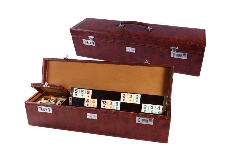 Okey Traditional Turkish Game Rummikub New In The Leather Box
