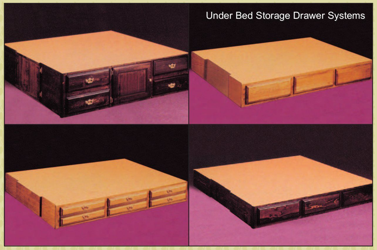 Http Waterbedstoday Com Pedestals Html Waterbed Drawer