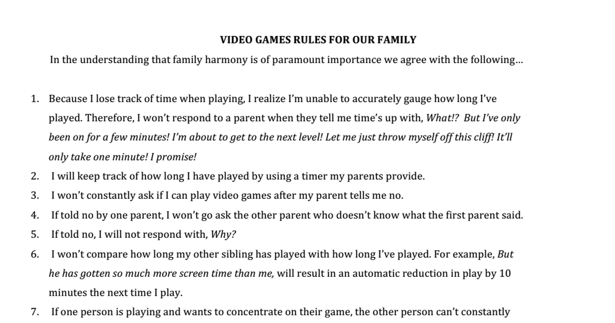 who ever made this is a genius, since Kids can still play games but not too much for the parent to take it away
