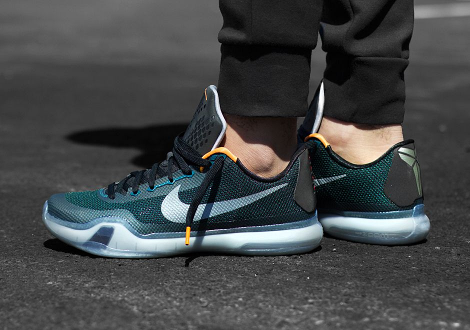 2015 Cheap Nike Kobe 10 Cheap sale Flight Teal Black Bright Citr