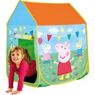 Childrens Peppa Pig Wendy House Pop Up Activity Indoor Outdoor Tent Play Set Toy  sc 1 st  Pinterest & Buy Peppa Pig Muddy Puddles Play Tent at Argos.co.uk - Your Online ...