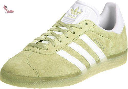 Adidas Gazelle chaussures 3,5 iceyellow / blanco chaussures adidas