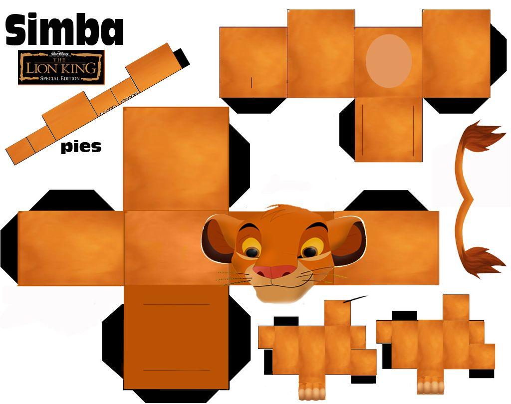 image detail for simba origami lion instructions disney pinterest bastelbogen l we und. Black Bedroom Furniture Sets. Home Design Ideas