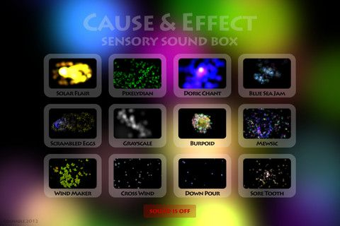 Cause and Effect Sensory Sound Box ($1 99) the second in a