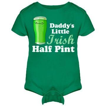 Irish Half Pint Baby Irish Baby Irish Baby Shower Baby Holiday Photos