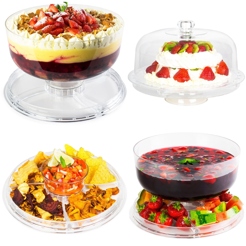 Andrew james 4 in 1 multifunctional display stand dessert