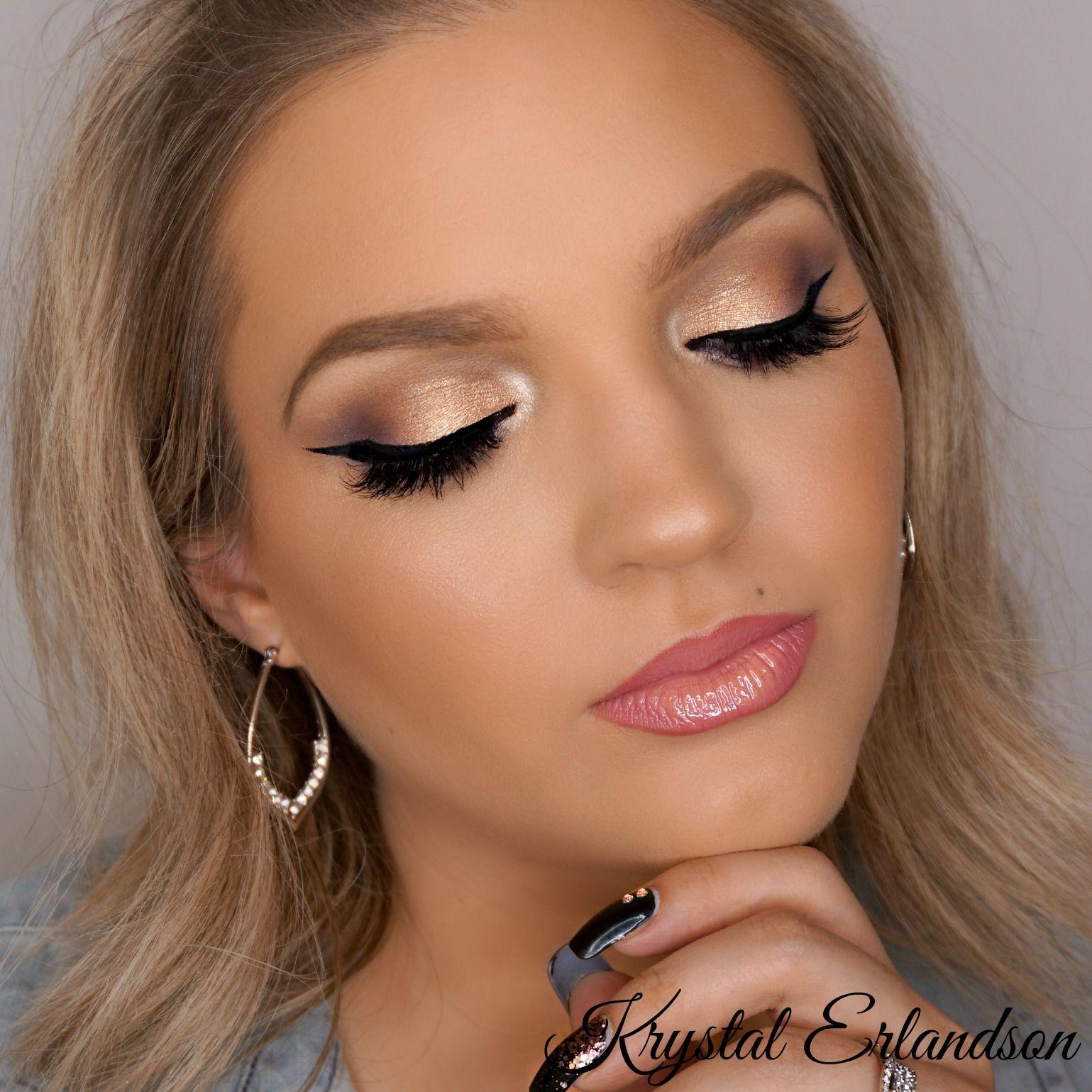 neutral glam Makeup Tutorial Makeup Geek Glam makeup