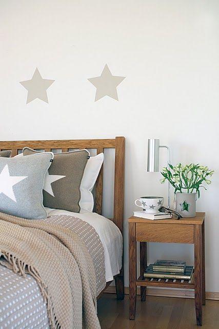 Estrellas por todos lados interiors design decorar for Cuartos decorados con estrellas