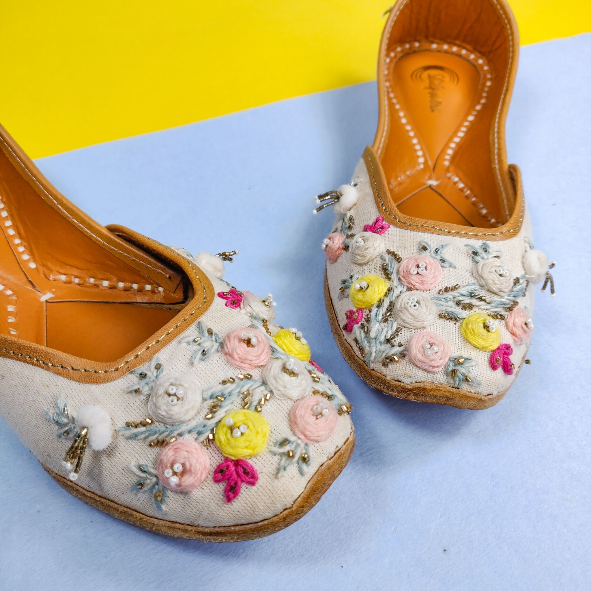 Check out these Juttis  by SHILPSUTRA on Jivaana com is part of Jutti - Shop for Love me knot online  Get Latest Collection u2713 Best Price u2713 Free Shipping u2713 Cash On Delivery u2713 7 Days Return At Jivaana