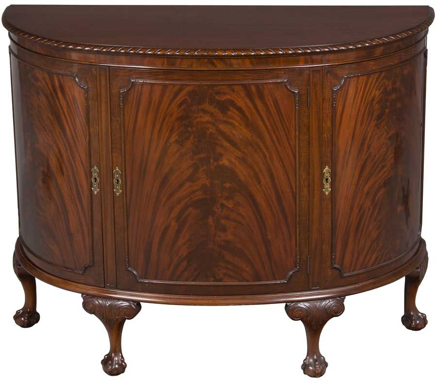 Antique Demi Lune Sideboard | Home, Antiques and The o'jays