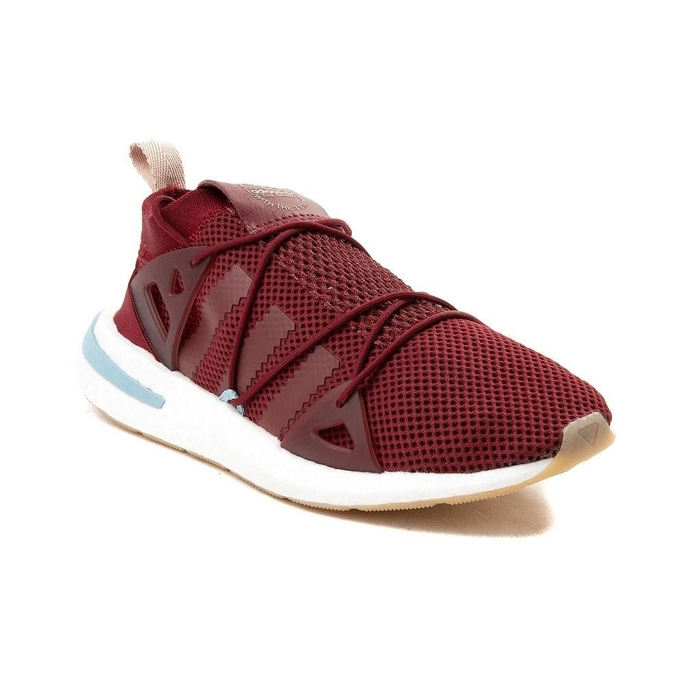 Womens adidas Arkyn Runner Athletic Shoe red 436757