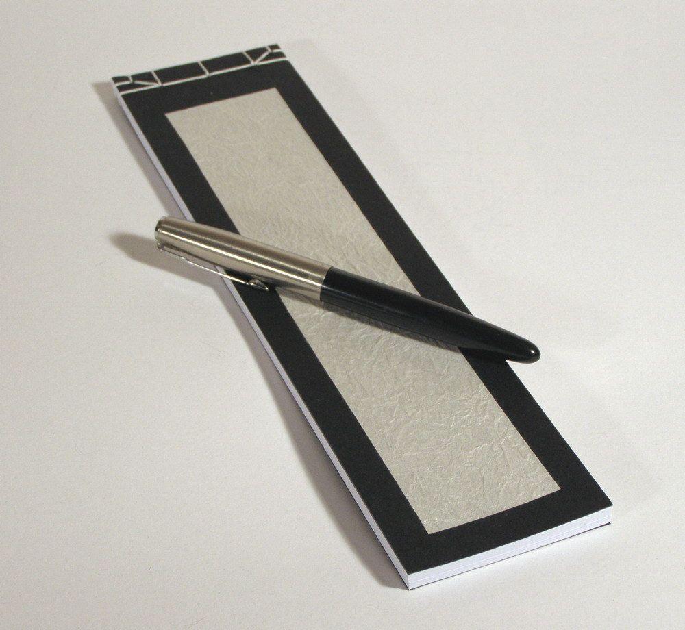 Japanese Notebook Black And White, Via Etsy.