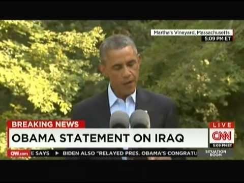 President Obama Addresses ISIS Crisis - 8/11/2014