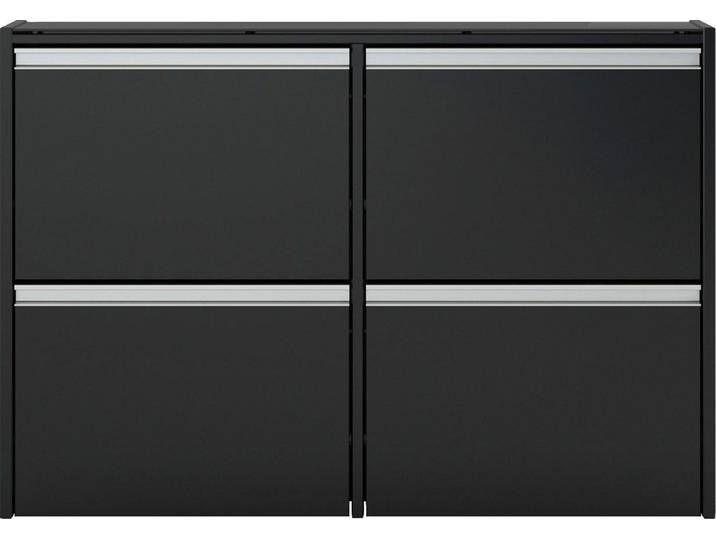 INOSIGN Schuhschrank Breite 103 cm, schwarz, »Skyline«, FSC®-zertifiziert