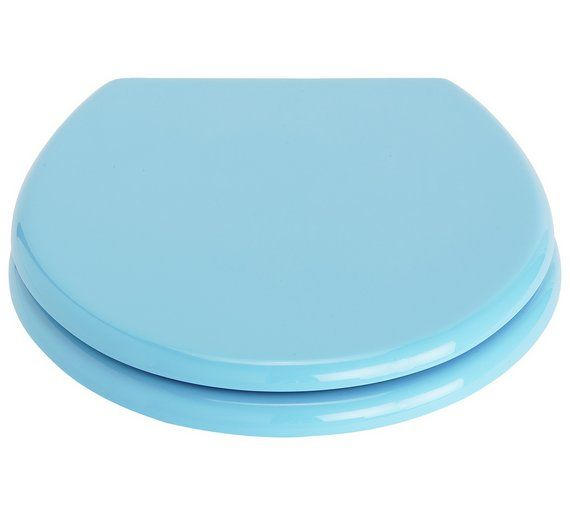 Buy Colourmatch Toilet Seat Crystal Blue At Argos Co Uk