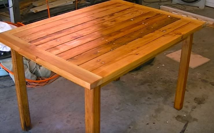 Garden Table Woodworking Plans Ideas You Ll Love To Build At Home