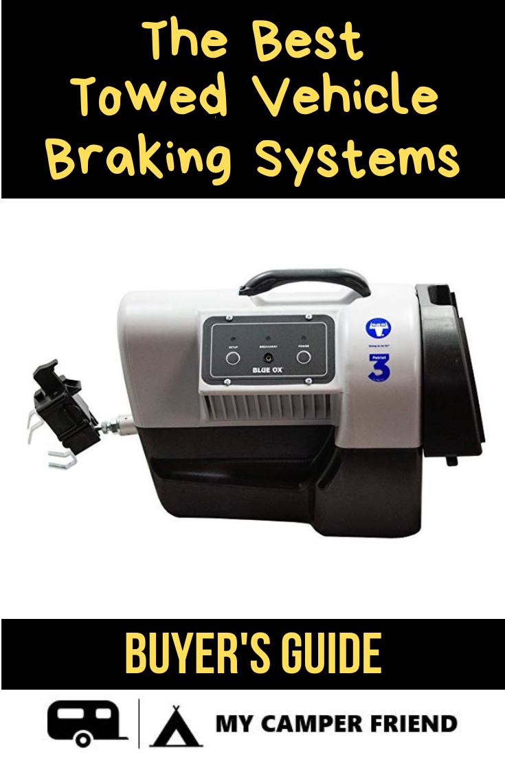 The Best Towed Vehicle Braking Systems RV Brake Systems