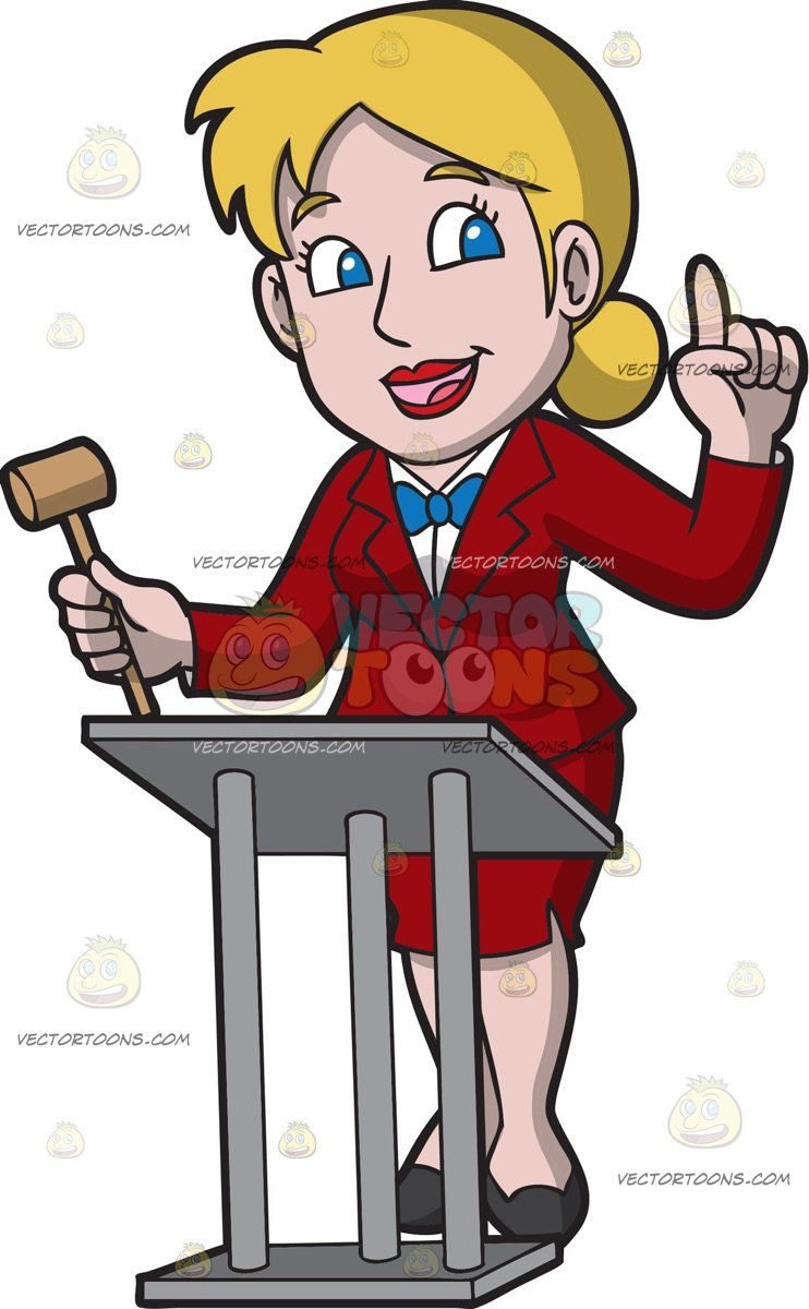 Black boy with blonde hair a professional female auctioneer  vector toons  pinterest  women