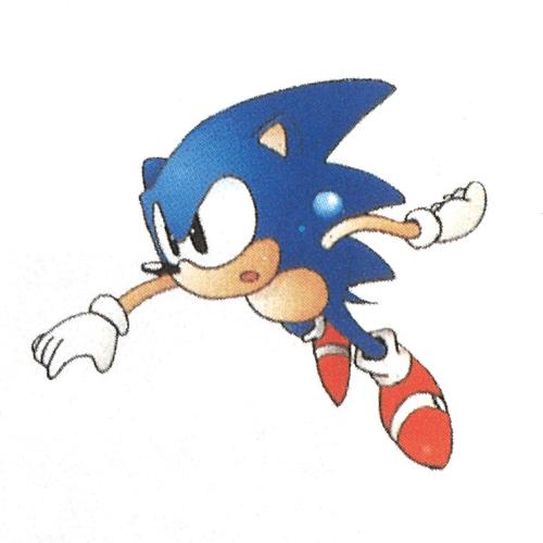 Sonic The Hedgehog 2 Sega Genesis Official Artwork Sonic The Hedgehog Sonic Hedgehog