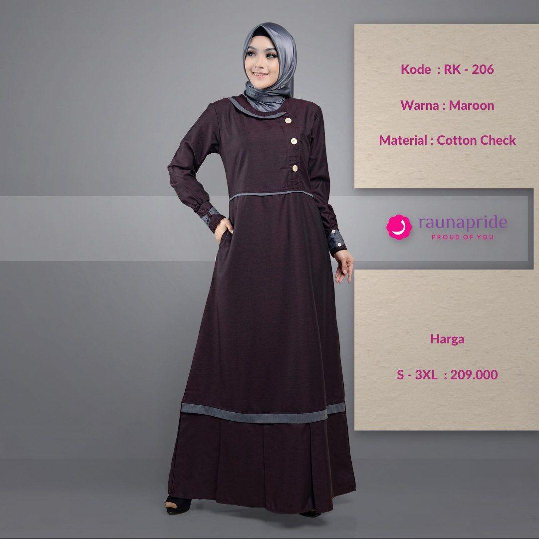 Pin On Wa 089612380363 Atasan Rauna Gamis Rauna Gamis