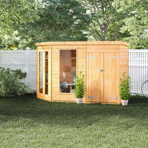 11 x 7 Ft. Shiplap Corner Summer House