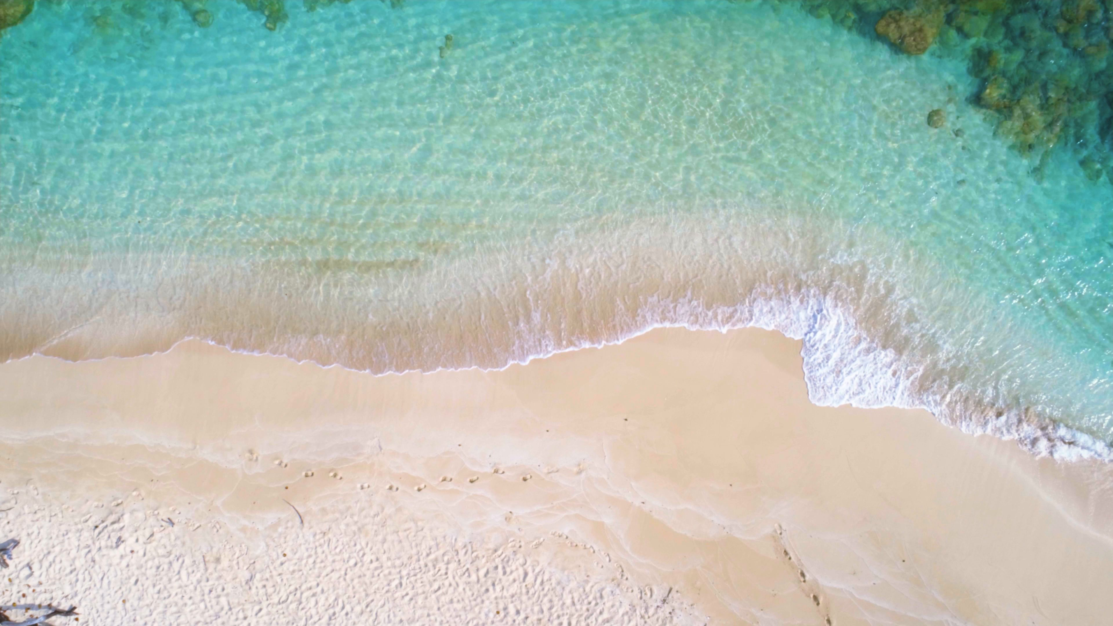 Aerial Drone View Of A White Sand Cay In The Caribbean Sea Stock Footage Ad White Sand View Aerial Aerial Drone Aerial Caribbean Sea