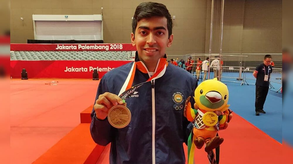 The Rising Star Of Indian Table Tennis Harmeet Desai In 2020 Table Tennis Commonwealth Games Tennis Stars