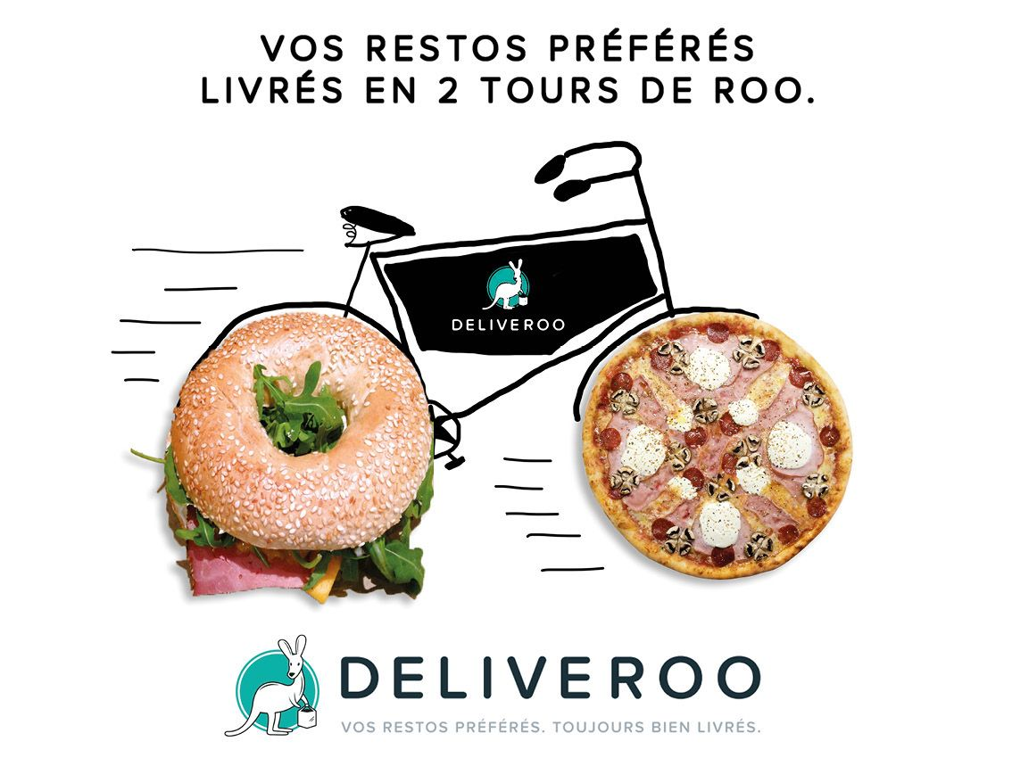 Deliveroo on Behance | Cuisine et boissons | Pinterest | Behance
