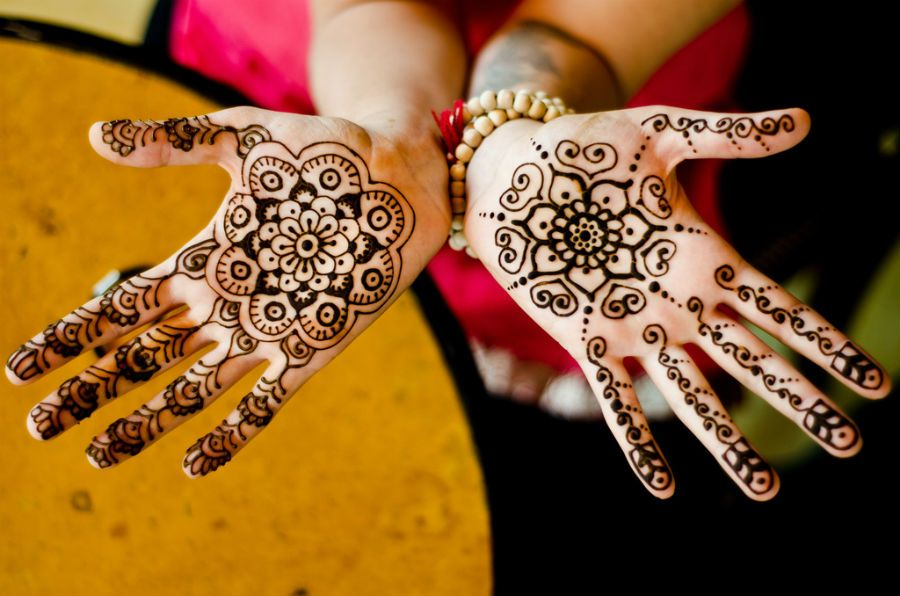 Easy Mehndi Ideas : Classic christmas eve mehendi design ideas for hands