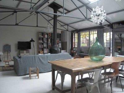 magnifique loft style maison de famille maison de famille coup de foudre et foudre. Black Bedroom Furniture Sets. Home Design Ideas