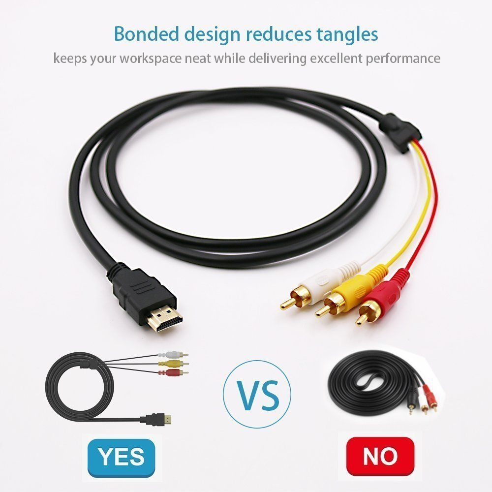 Hdmi To Rca Cable Hdmi To Rca Converter Adapter Best Buy Audio Extractor Jacks Cord Black Read More Reviews Of The Produ Audio Ideas Cool Things To Buy Audio