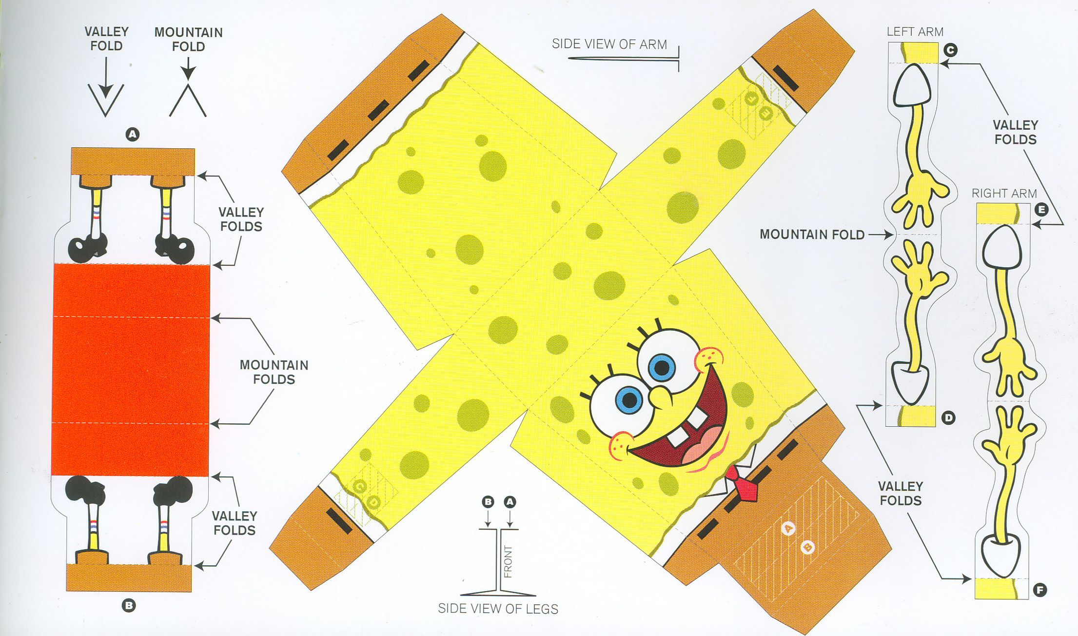 Spongebob Crafts Printables