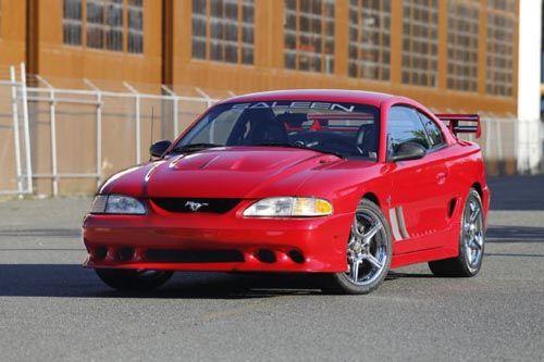 Tom Rice S 1995 Ford Mustang Saleen S351 Saleen Mustang Ford Mustang Saleen Ford Mustang Cobra