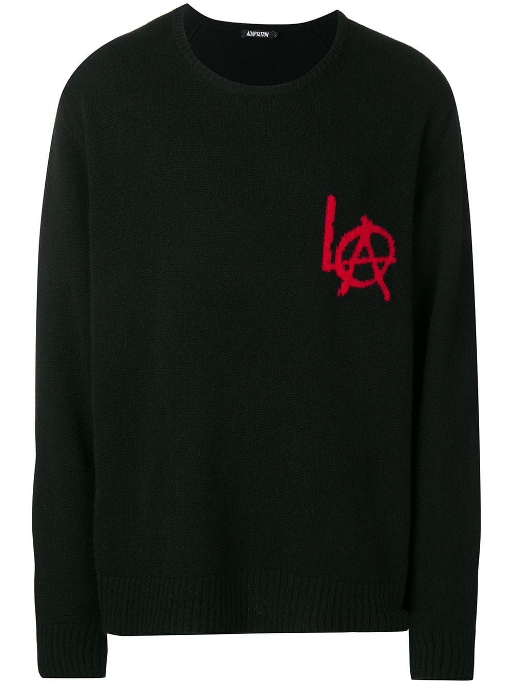 b221ae19762 Adaptation LA Crew Neck Sweater in 2019 | Products | Sweaters, Black ...